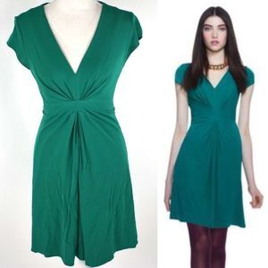 Banana Republic Issa London Collection green dress